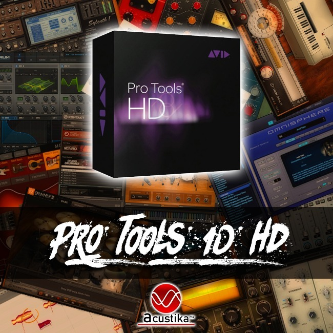 Pro Tools 10 | Waves Complete 10 | Win Mac | Plugins