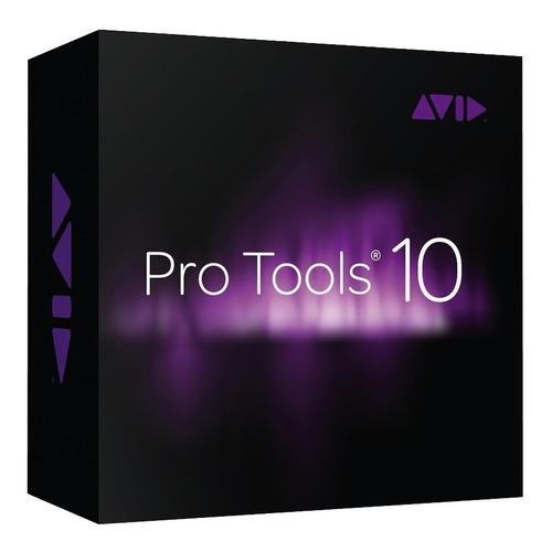 pro tools 10hd + para windows + vídeo aula + suporte