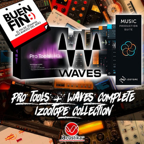 Pro Tools 12, Waves + Izotope Collection | Vst Win Mac