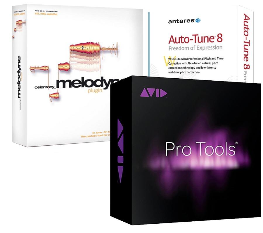 Pro Tools 12 5   Melodyne 4   Autotune 8   Windows