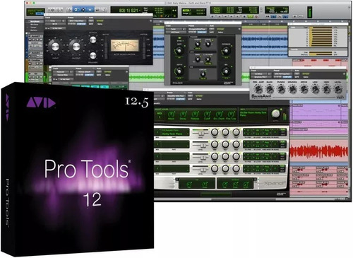 pro tools 12.5 (win 7 64 bits) + wave 9 completo é+