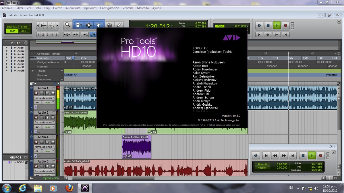 Pro Tools Hd 10 + Waves + Ez Drummer 2 Full | Pc - Mac | - S/ 100,00