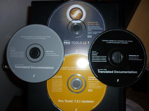 pro tools le 7 con actualizacion al 7.3