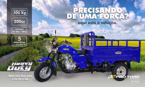 pro tork heavy duty 200cc 5 marchas