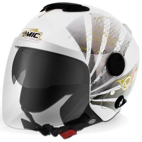 pro tork moto capacete aberto