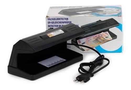 probador de billetes falsos, luz uv. detector billetes.