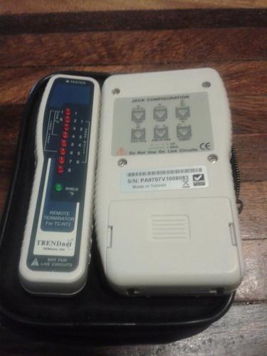 probador de cable de red con generador de tono
