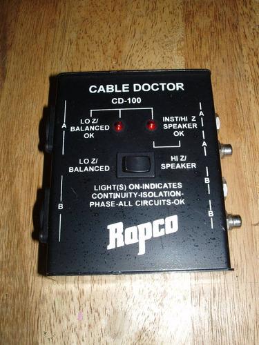 probador de cables rapco