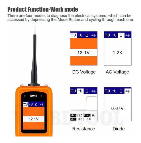probador de circuitos 12&24 voltios punta logica electronica