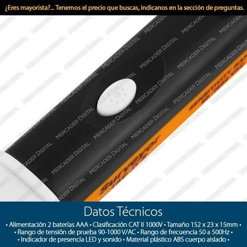 probador de corriente multímetro detector voltaje + envío
