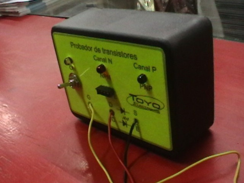 probador de diodos y transistores