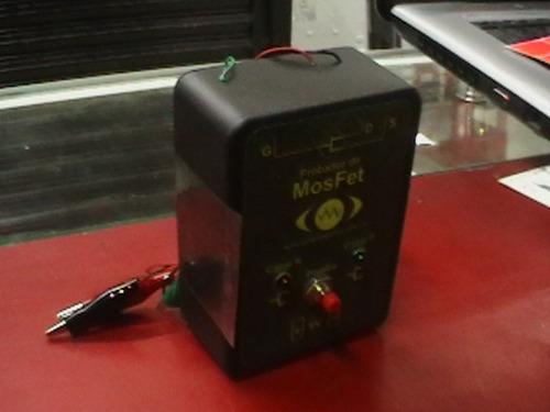 probador de mosfet y transistores