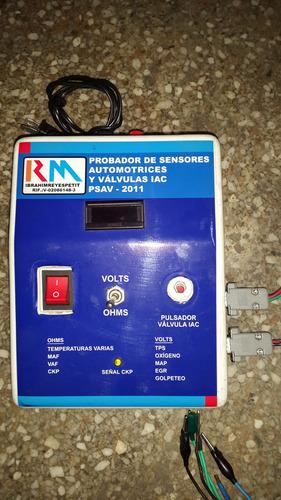 probador de sensores automotriz