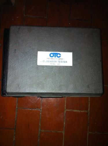 probador de sensores de oxígeno marca otc