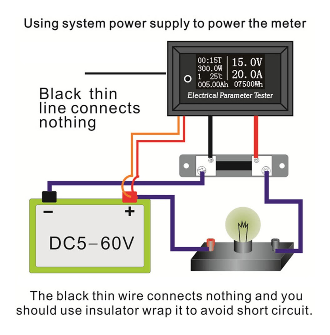 ER-JI Medidor de Alto Voltaje de Fase de medici/ón de mult/ímetro Digital de Pantalla Grande 2000V AC y DC Voltaje 2KV medidor de Alto Voltaje