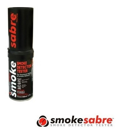 probador detector de humo 1 pza sabre sdi 2.6 onzas