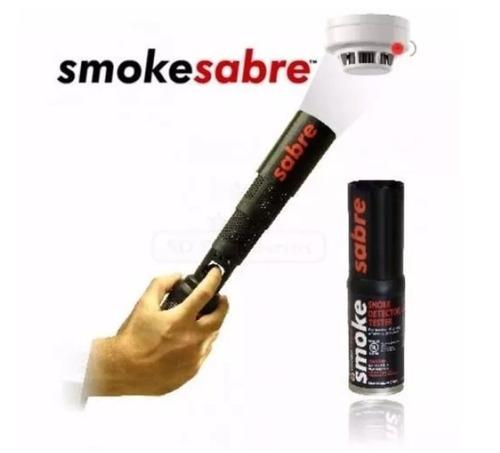 probador para detector de humo sabre