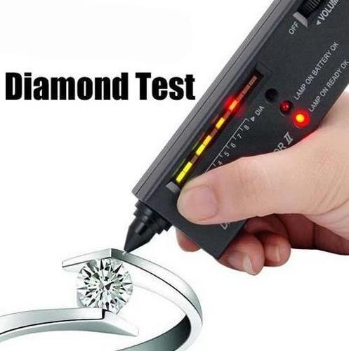 probador tester para diamantes led con audio