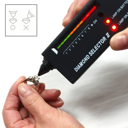 probador verificador diamantes tester joyas gemas