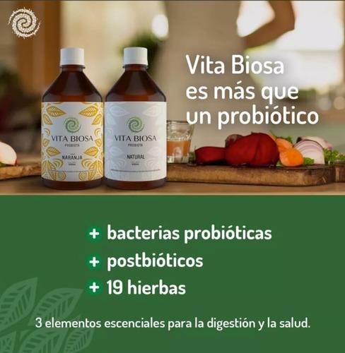 probiótico orgánico bebida vitabiosa salud digestión hierbas