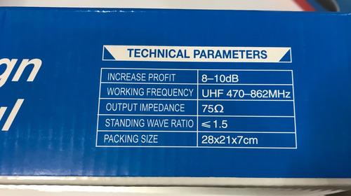 problemas con señal de tu tv smart led lcd antena interna hd