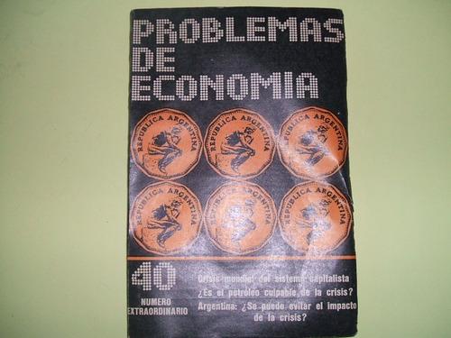 problemas de economia - nº 40 extraordinario