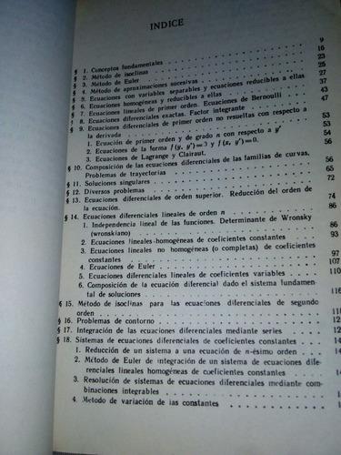 problemas de ecuaciones diferenciales ordinarias.