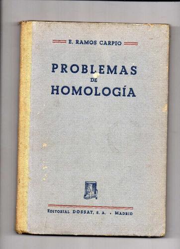 problemas de homologia