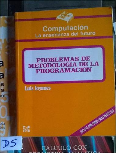 problemas de metodologia de la programacion luis joyanes