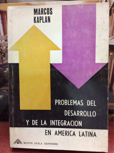 problemas del desarrollo y de la integración en américa lati