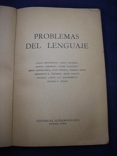 problemas del lenguaje - vv. aa.
