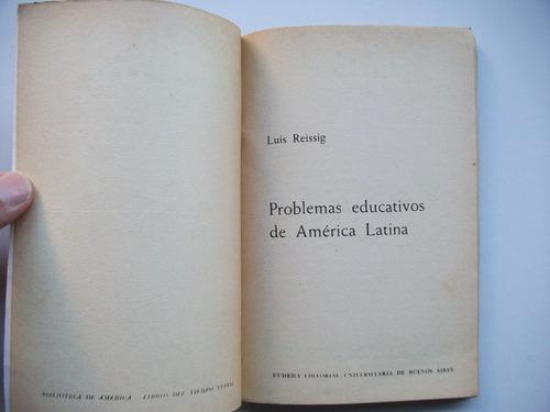 problemas educativos de américa latina - luis reissig
