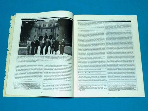 problemas internacionales 1984 política soviética occidente