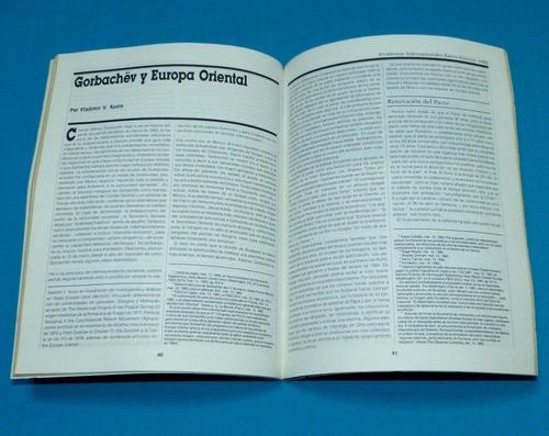 problemas internacionales 1986 gorbachov leninismo marxismo