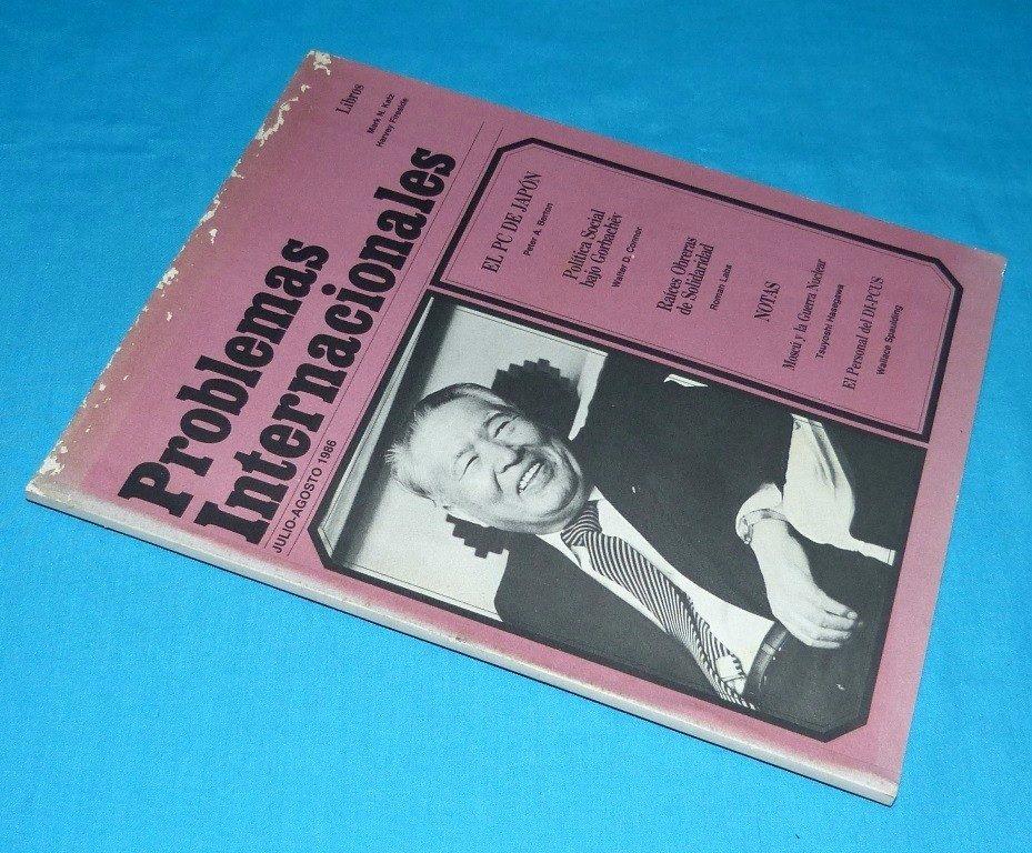 problemas internacionales partido comunista japón gorbachov