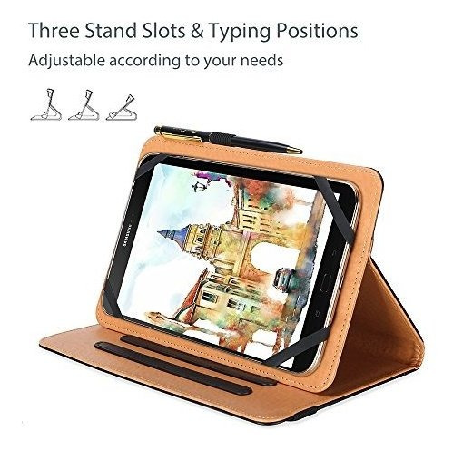 procase funda universal para tableta de 7 a 8 pulgadas, func