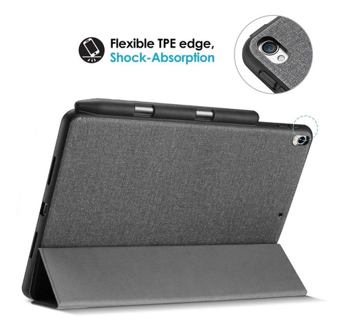 procase ipad air (3rd gen) 10.5 2019 / ipad pro 10.5 case,