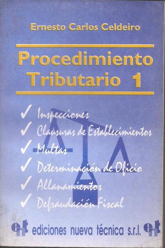 procedimiento tributario tomo 1 celdeiro