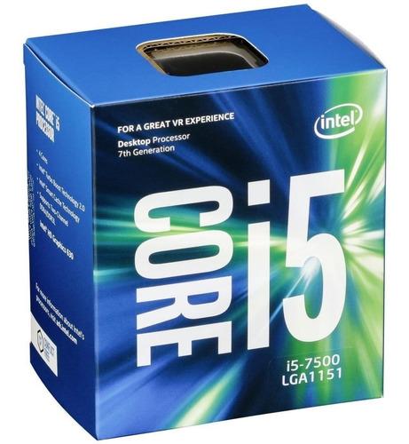 procesador 3,4ghz intel i5-7500 quad-core lga1151