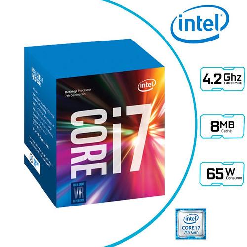 procesador 4.2ghz intel core i7 7700 lga 1151 7ma generacion
