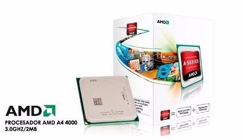 procesador amd a4 4000 dual-core 3.2 ghz max turbo cpu+gpu