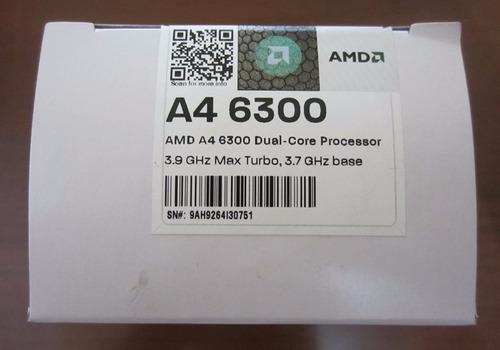 procesador amd a4 6300 fm2/3.90ghz/hd8370d/1mb/2núcleos