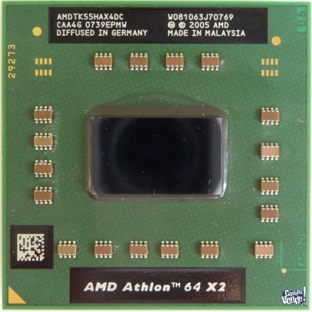 procesador amd athlon 64 x2 amdtk55hax4dc 1800 mhz socket s1