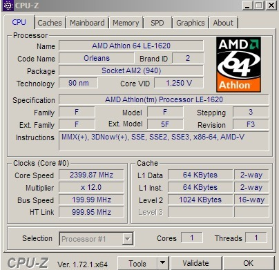 AMD ATHLON TM PROCESSOR LE-1620 WINDOWS 7 X64 DRIVER