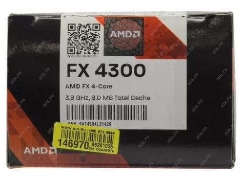 Procesador Amd Fx 4300 4 Nucleos 4ghz Am3 Black Nuevo 253 000 En Mercado Libre