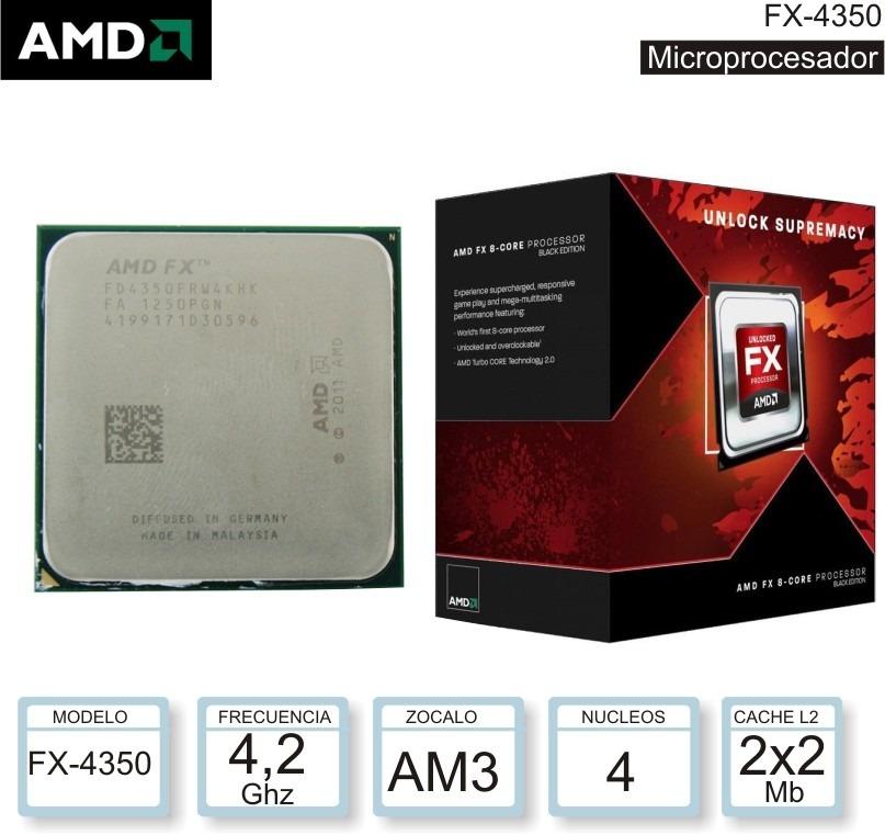 Procesador Amd Fx 4300 Black Edition Vishera 3 8 Ghz Pereira 299 900 En Mercado Libre