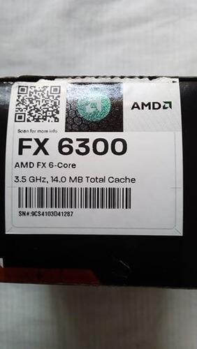 procesador amd fx 6300 3.5 ghz 6 nucleos socket am3+.