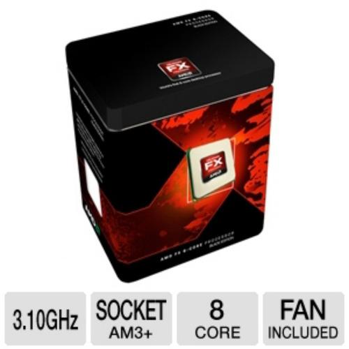 procesador amd fx-8120 8 nucleos c/caja y f.cooler