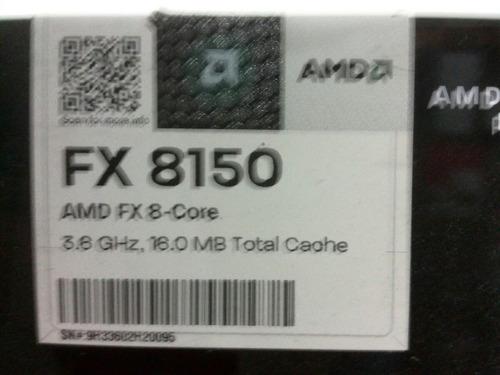 procesador amd fx-8150 y 8120  black edition 8 núcleos