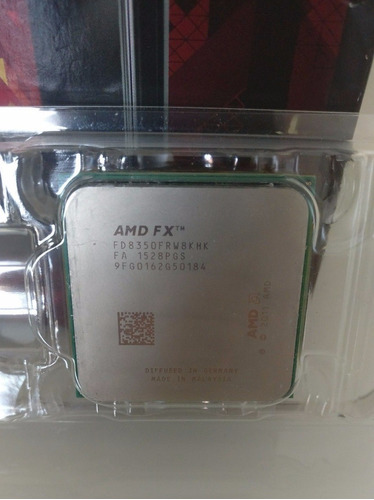 procesador amd fx 8350 black edition x8 núleos 4ghz